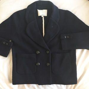 3.1 Phillip Lim Navy Cropped Jacket